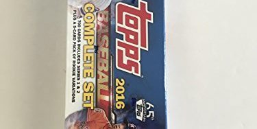 2016 Topps Baseball Factory Set Retail Version