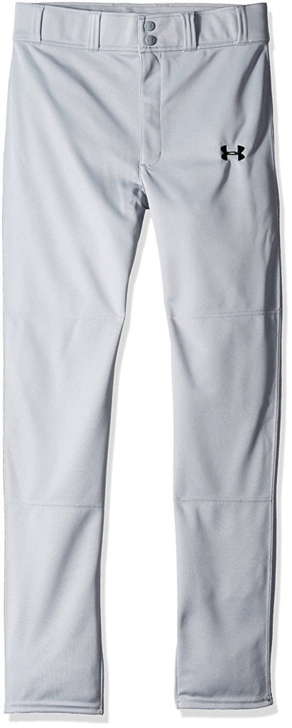 Under Armour Boys' Clean Up Pants, Youth Medium, Baseball Gray (075)