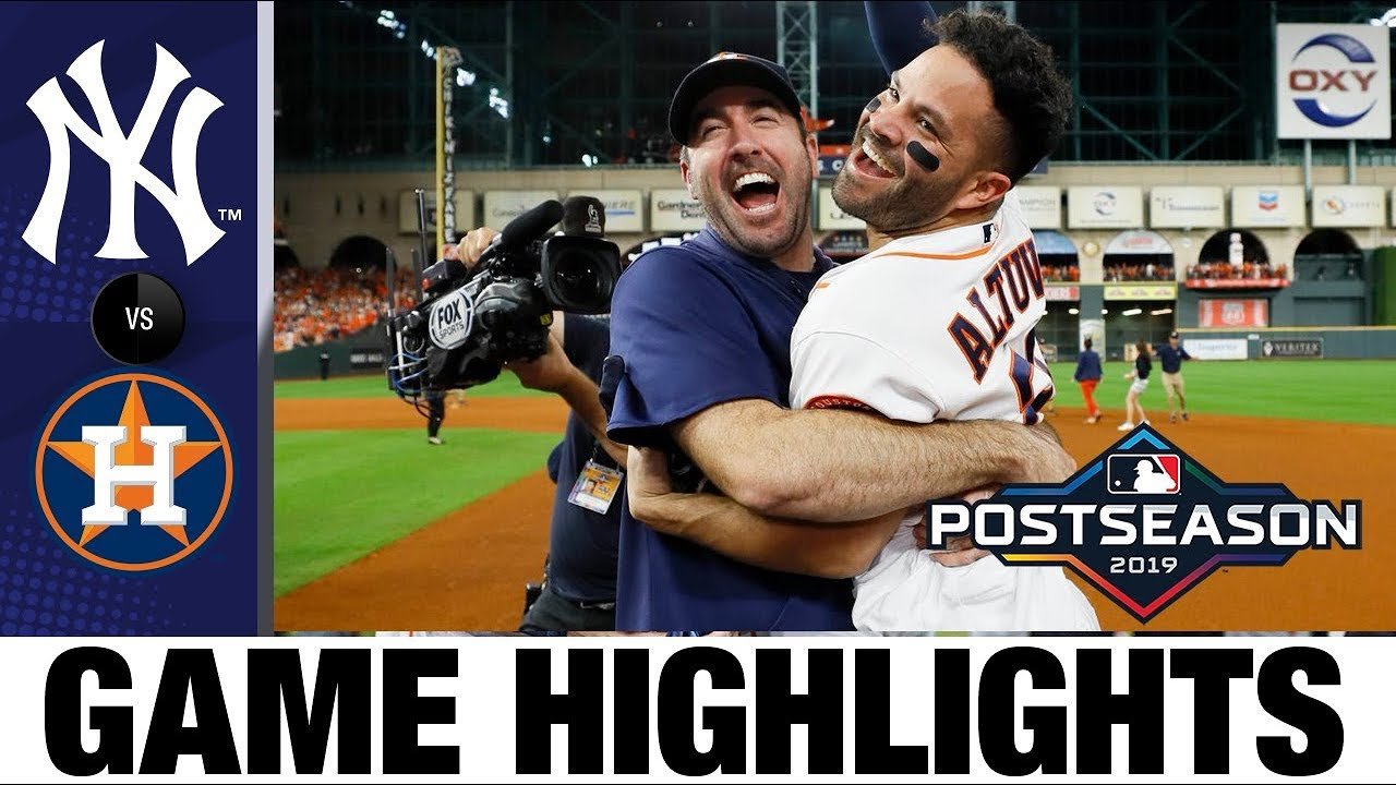 Jose Altuves walk off HR sends Astros to World Series in Game 6 Yankees Astros MLB Highlights - Jose Altuve's walk-off HR sends Astros to World Series in Game 6! | Yankees-Astros MLB Highlights