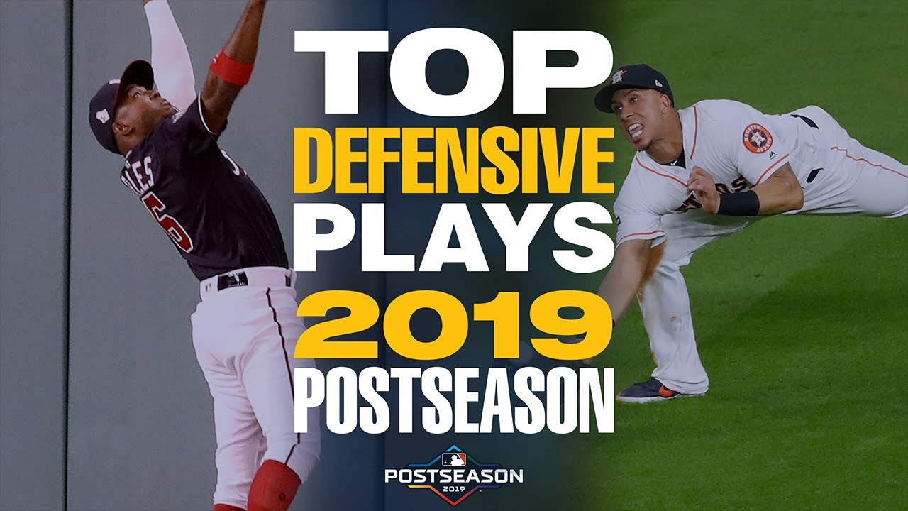 Top 20 Defensive Plays of the 2019 Postseason MLB Highlights - Top 20 Defensive Plays of the 2019 Postseason! | MLB Highlights